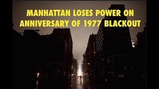 Major Power Outage in New York on the Anniversary of Infamous 77 Blackout