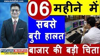 06 महीने में सबसे बुरी हालत | Latest Share Market News In Hindi | Latest Stock Market News