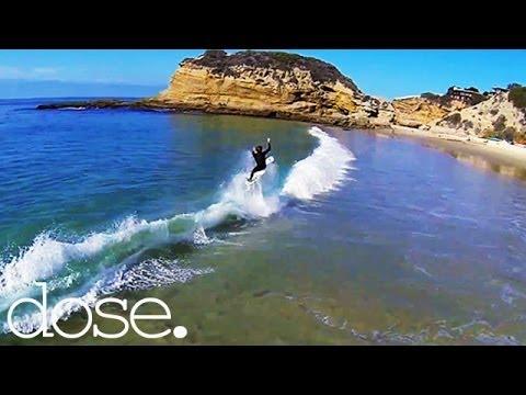 GoPro Drone POV Surfing  With Pro Surfer Josh Sleigh - UCsert8exifX1uUnqaoY3dqA