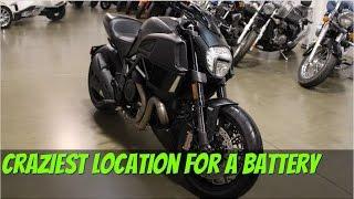 Sostituzione batteria Ducati Diavel