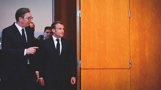 Conférence de presse avec Aleksandar VUCIC, Président de la République de Serbie.