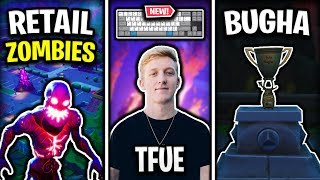 Tfue's New Keyboard Explained, NEW Ingame Trophies & Retail Row is BACK with Zombies!