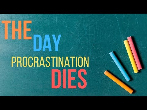 The Day Procrastination Dies - Joe Joe Dawson Motivational
