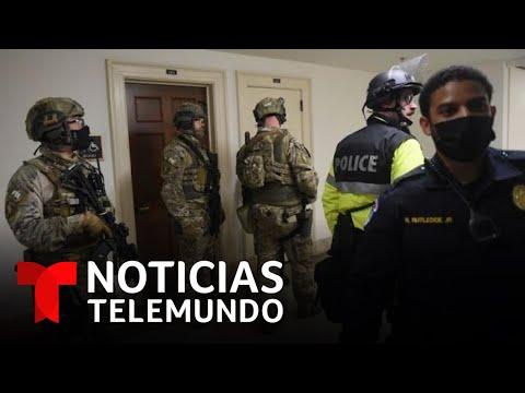 El FBI advierte sobre posibles protestas armadas en EE.UU. | Noticias Telemundo