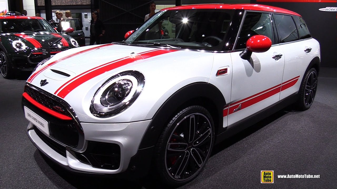 2017 mini john cooper works clubman all4 231ch exterior interior walkaround 2016 paris auto. Black Bedroom Furniture Sets. Home Design Ideas
