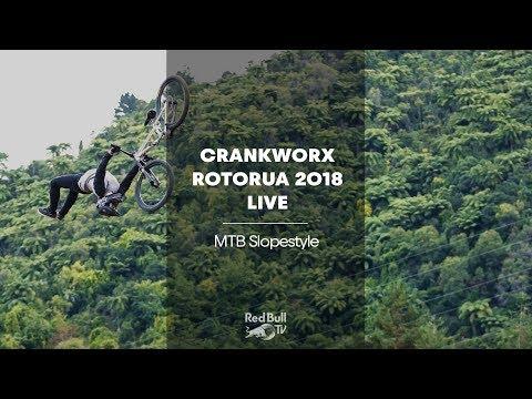 LIVE - MTB Slopestyle time at Crankworx Rotorua 2018 - UCblfuW_4rakIf2h6aqANefA