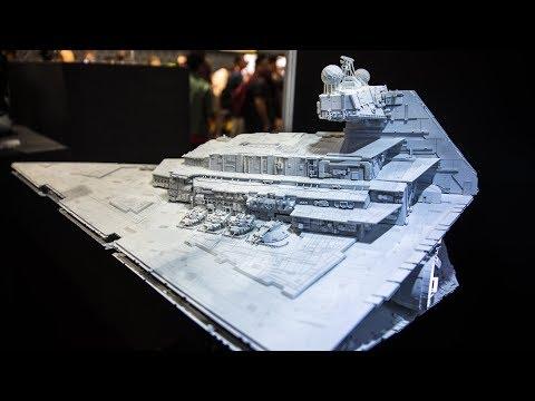 Star Wars Star Destroyer Model Replica! - UCiDJtJKMICpb9B1qf7qjEOA
