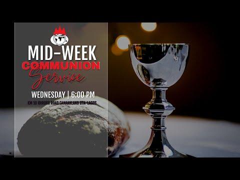 DOMI STREAM: MIDWEEK COMMUNION SERVICE  9, JUNE 2021 FAITH TABERNACLE OTA