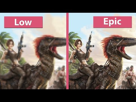 Ark: Survival Evolved – PC Low vs. Medium vs. High vs. Epic Graphics Comparison [60fps][FullHD] - default