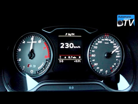 2015 Audi S3 Sedan (300hp) - 0-230 km/h acceleration (1080p) - UCEsbHTupMY0Ul3nb9FFGF_g