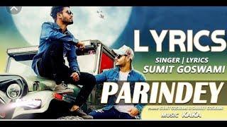 Watch Parindey sumit goswami DJ remix song New haryanvi song 2019