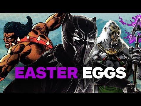 Black Panther EASTER EGGS, References & Trivia - UCKy1dAqELo0zrOtPkf0eTMw