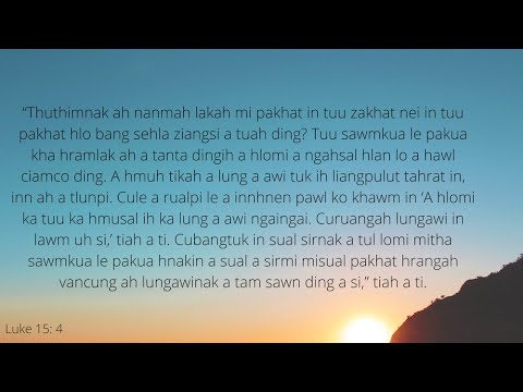 DEVOTION NI (22) NAK  VANRAM AH MI PAKHAT A SUNGLAWI TUK