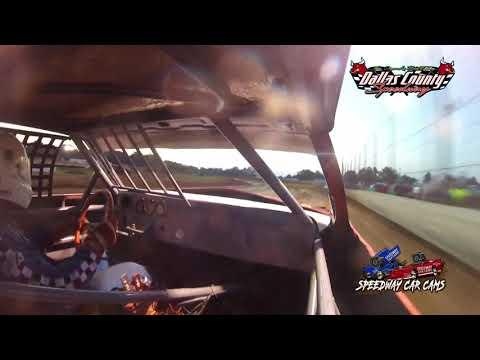 #25 Ben Lipe -USRA Stock Car - 7-9-2021 Dallas County Speedway - In Car Camera - dirt track racing video image