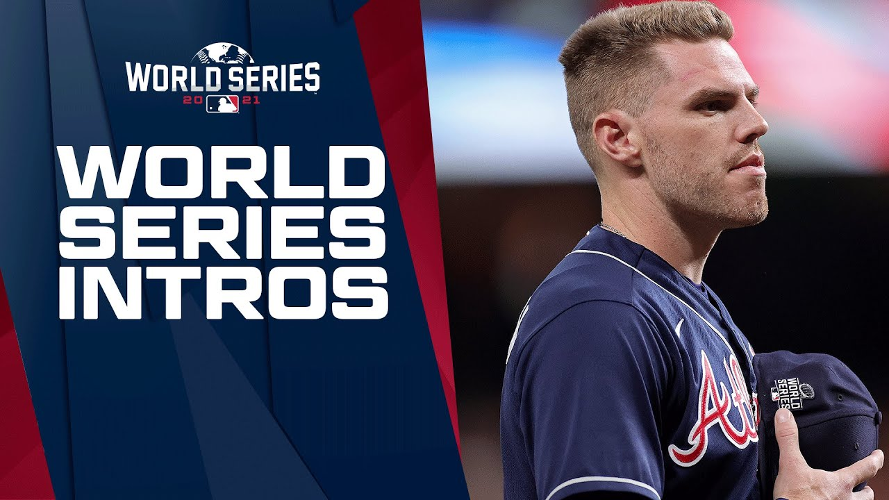 2021 World Series Introductions for the Braves and Astros!