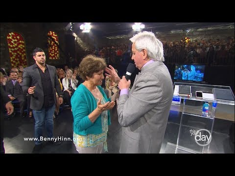 Hes Here Right Now - A special sermon from Benny Hinn