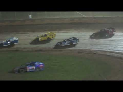 Midwest Modified Feature - Cedar Lake Speedway 08/21/2021 - dirt track racing video image