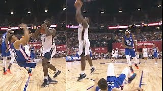 Zion Williamson Bullies Kevin Knox Then Shocks Crowd With Dunk! Knicks vs Pelicans Summer League