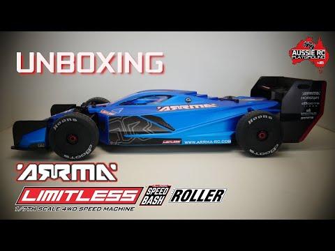 Unboxing: ARRMA Limitless 1/7 Scale Speed Basher Roller - UCOfR0NE5V7IHhMABstt11kA