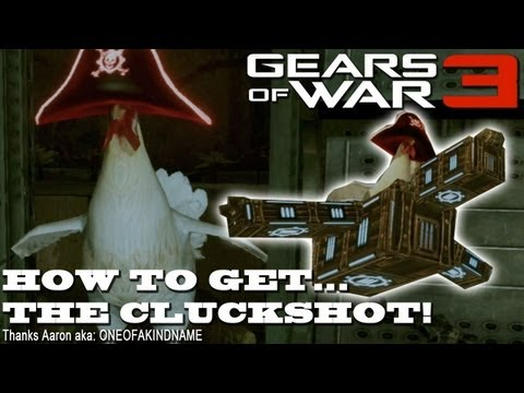 Gears Of War 3 Easter Egg The Cluckshot Rcreviewslt