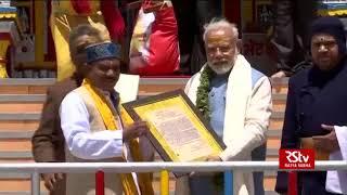 PM Modi offers prayers in Badrinath shrine in Uttarakhand