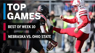 Top Games of 2018: Week 10 |  Nebraska Cornhuskers vs. Ohio State Buckeyes | B1G Football