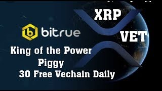 Ripple XRP Axis Bank Loves Ripple. Vechain Huge Partnership. BTC 700K. Bitrue Power Piggy Daily Free