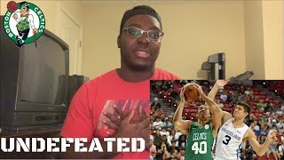 Celtics FOURTH Summer League Game REACTION and, a breakdown | CELTICS UNDEFEATED
