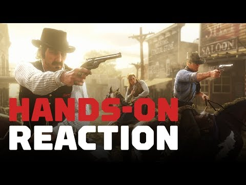 Red Dead Redemption 2: Hands-On Reaction - UCKy1dAqELo0zrOtPkf0eTMw