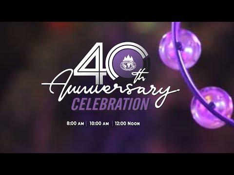40th Anniversary Celebration  Day 1  05-2-2021  Winners Chapel Maryland