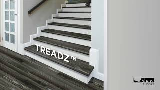 Shaw Stair Treadz: A One Piece Stair Cover System