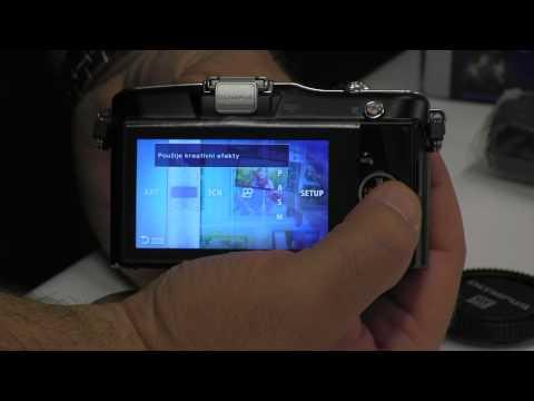 Videorecenze Olympus PEN E-PM1 tělo