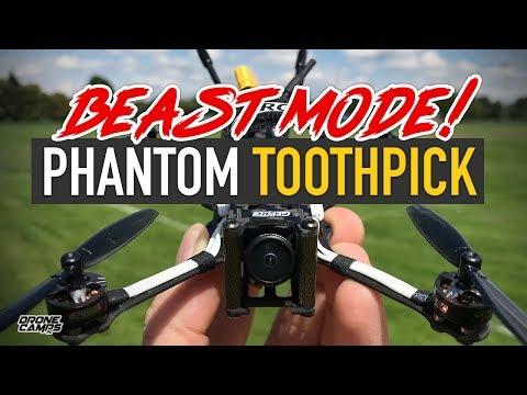 BEAST MODE TOOTHPICK! - Geprc Phantom Toothpick Freestyle Quad - FULL REVIEW - UCwojJxGQ0SNeVV09mKlnonA