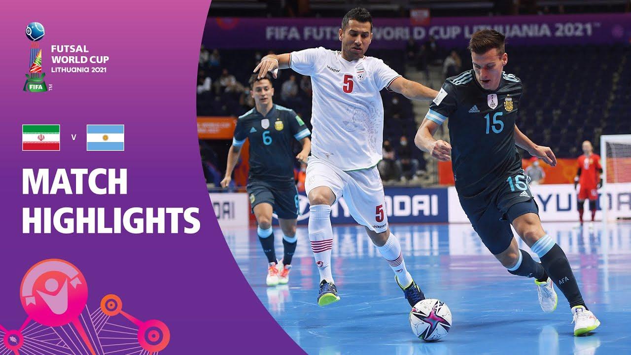 IR Iran v Argentina   FIFA Futsal World Cup 2021   Match Highlights