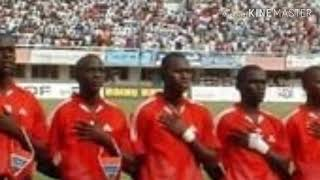 Soccer - National Anthem of Gambia