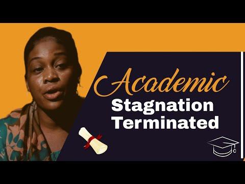 Striking Testimony :  Academic Stagnation Terminated