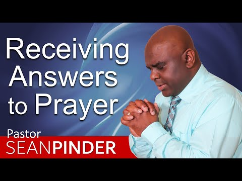 RECEIVING ANSWERS TO PRAYER - PARTNER PRAYER MEETING APRIL 2019