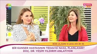 Doç. Dr. Yeşim Yıldırım  - Kanserde son gelişmeler ve İmmünoterapi - Show Tv