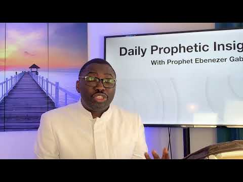 Prophetic Insight August 31,2021