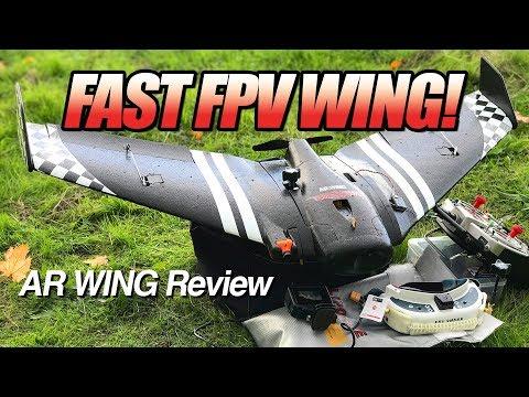 BEST Beginner FPV Wing? - SonicModell AR Wing - LOS, FPV, and Review - UCwojJxGQ0SNeVV09mKlnonA