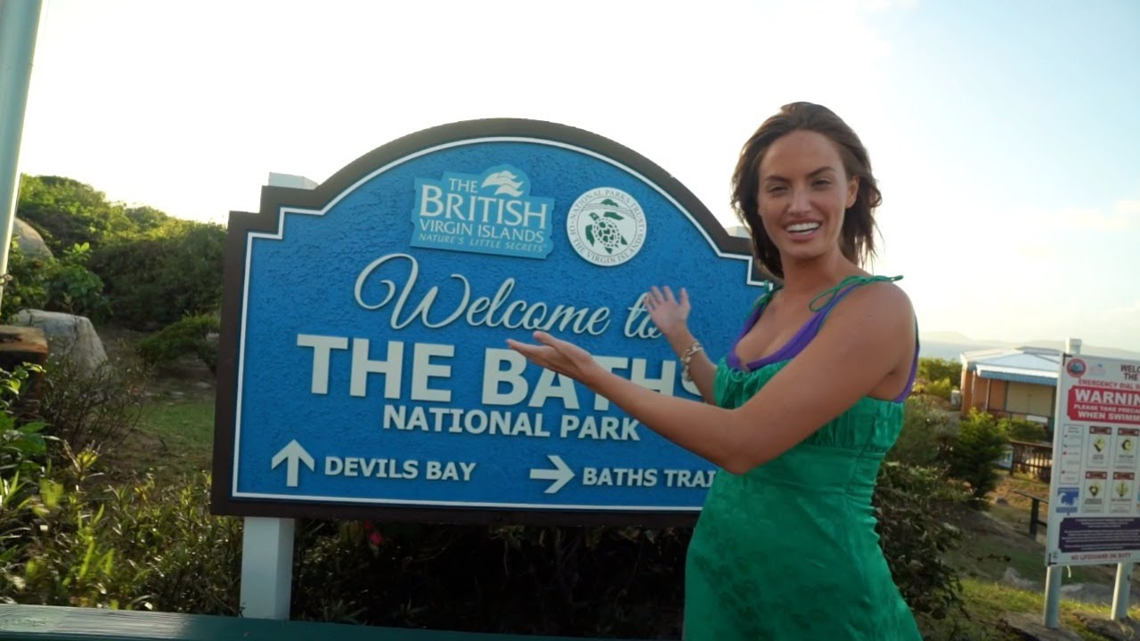 Haley Kalil Goes Island Hopping In Scrub Island