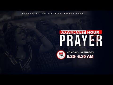 DOMI STREAM: COVENANT  HOUR OF PRAYER  1, SEPTEMBER 2020