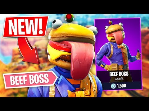 NEW EPIC BEEF BOSS SKIN!! *Pro Fortnite Player* // 1,300 Wins (Fortnite Battle Royale) - UC2wKfjlioOCLP4xQMOWNcgg