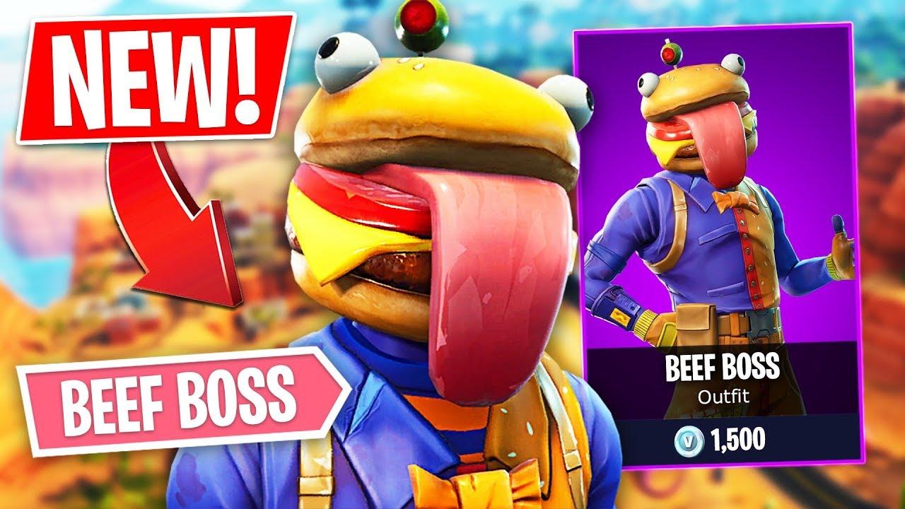 new epic beef boss skin pro fortnite player 1 300 wins fortnite battle royale fpvracer lt - fortnite beef boss skin release date