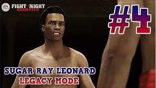 Student Of The Game : Sugar Ray Leonard Fight Night Champion Legacy Mode : Part 4 (Xbox One)