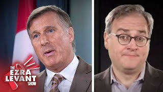 Trudeau's Bernier ban welcomes French Bloc Quebecois to English-only debate | Ezra Levant