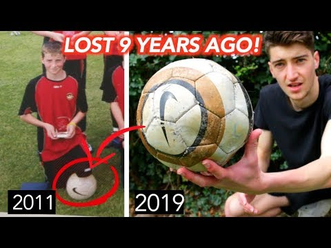 I Found a FOOTBALL I Lost 9 YEARS AGO!! - UCtg9Di0mubuM_Cpw9OTRaDQ
