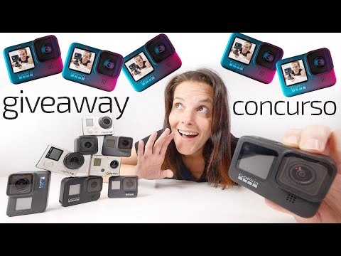 GoPro Hero 9 ($550). 5th International Giveaway! Â¡Â¡NEW!! Giveaway Image