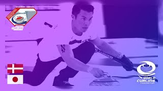 Denmark v Japan - round robin - World Mixed Doubles Curling Championship 2019