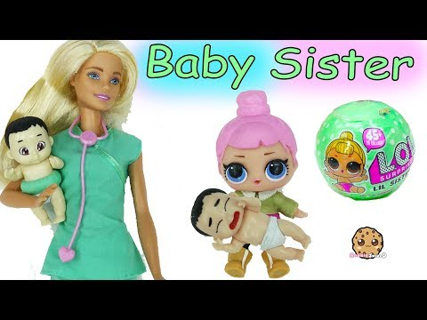 Lol Surprise Missing Lil Little Sister - Color Changing Baby Blind Bags with Doctor Barbie Doll - UCelMeixAOTs2OQAAi9wU8-g